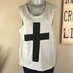 Forever 21 Graphic Muscle Shirt